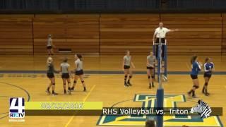 Rochester Varsity Volleyball vs. Triton