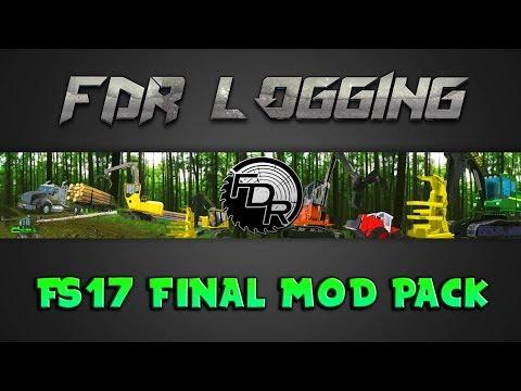 FDR Logging - V13F - Final FS17 Logging Pack