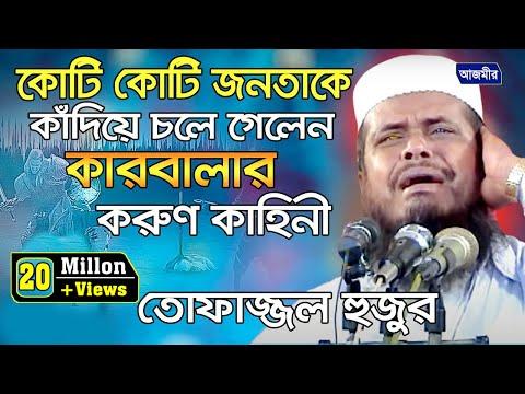 কোটি কোটি জনতাকে কাঁদিয়ে চলে গেলেন- কারবালার করুন কাহিনী | Mawlana Tofazzal Hossain | Bangla Waz |
