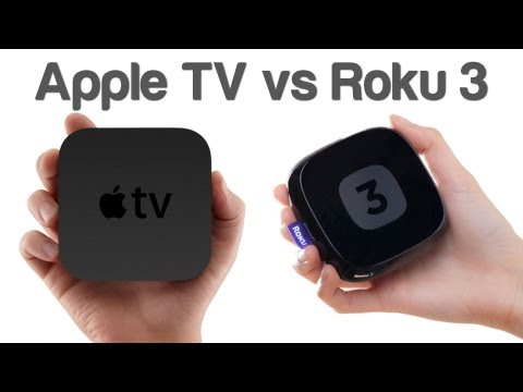 Apple TV - http://lgic.co/roku3 & http://lgic.co/appletv So which one should you buy? Apple TV or Roku 3? === http://logiclounge.com http://gplus.to/logiclounge http://...