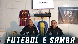 Essa é a combinação perfeita o samba ajudando nos fundamentos do futebol, um dos grandes segredos do nosso futebol!
