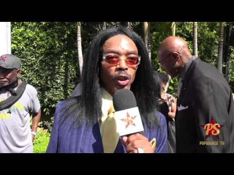 Raising Whitley's Wendell James at the 2016 Gospel Goes To Hollywood Awards