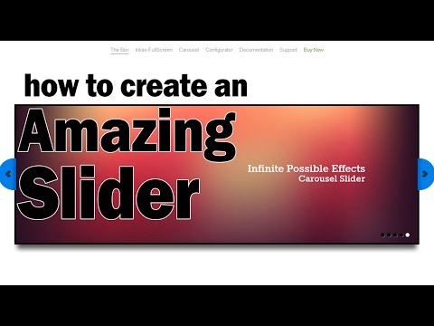 How to create and embed an Amazing Slider [Beginner Difficulty]