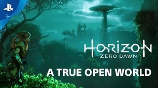 Horizon Zero Dawn is a true open world game
