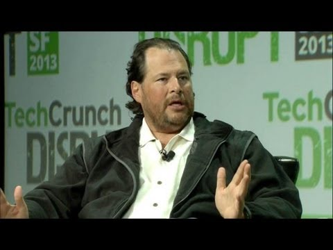 Salesforce's Benioff Says Microsoft Needs Gates | Disrupt SF 2013