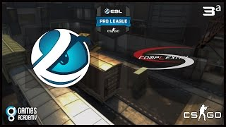 ESL Pro League S3 - Luminosity Gaming vs. compLexity (Train) - Narração PT-BR