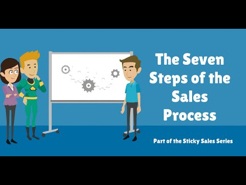 Free Sales Video: The Seven Steps of the Sales Process