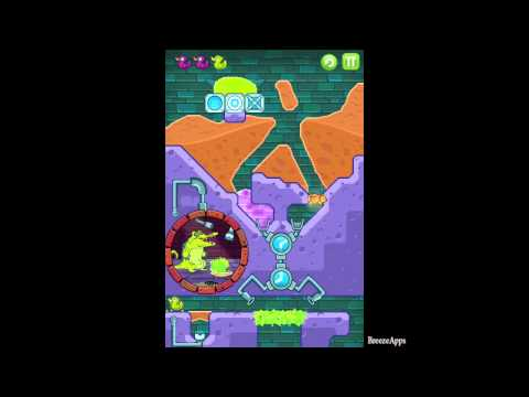 BreezeApps - This walkthrough showcases one way to beat level C4-8 Crossing Pathsin Where's my Water and how to get all three ducks. For more walkthrough videos like this...
