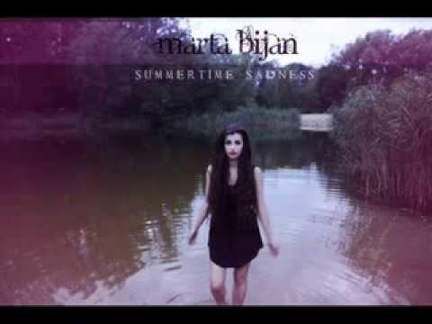 Tekst piosenki Marta Bijan - Summertime sadness (Lana Del Rey cover) po polsku