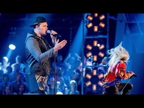 Battle - http://www.bbc.co.uk/thevoiceuk Singing 'Rolling In The Deep' in their vocal battle.
