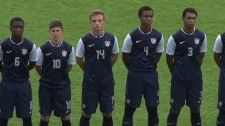 The U.S. Under-18 Men's National Team defeated the Czech Republic 1-0 in its second match at the 2013 Limoges Tournament.