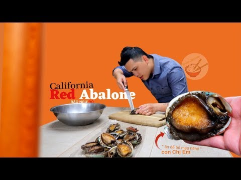 Bào Ngư Đỏ | California Red Abalone (re cái view món ăn mới lạ và nhạy cảm) - Thời lượng: 38:05.