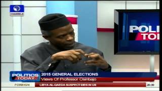 Nigerians Are Fed Up But APC 'Will' Bring Change - Osinbajo Pt4