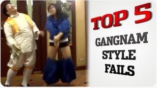 Clip hai - Top 5 sự cố khi bắt chước Gangnam Style