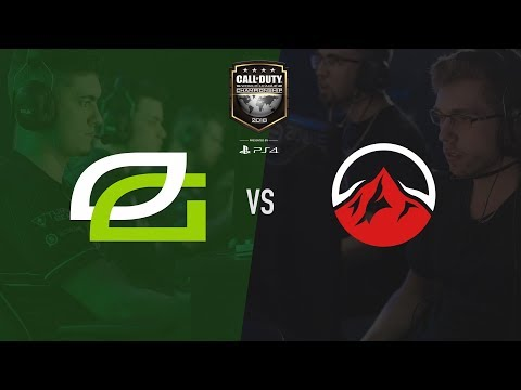 Elevate vs OpTic Gaming | CWL Champs 2018 | Day 1 (видео)