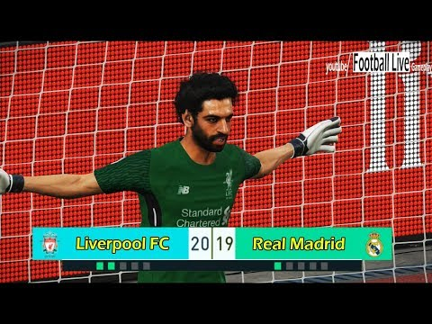 PES 2018 | SALAH (goalkeeper) Vs RONALDO (goalkeeper) | Penalty Shootout | Liverpool Vs Real Madrid