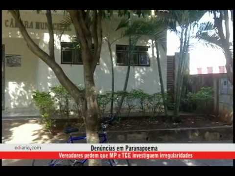 Denúncias em Paranapoema