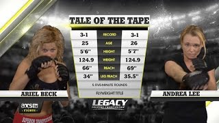 Video 2015 Fight of the Year: Andrea Lee With Submission Attempt After Submission Attempt vs. Ariel Beck MP3, 3GP, MP4, WEBM, AVI, FLV Juni 2019