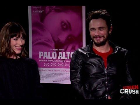 James Franco + Gia Coppola Interview: Palo Alto