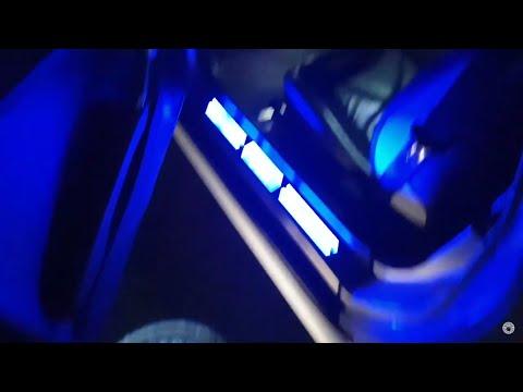 Illuminazione a led battitacco auto veramente uno spettacolo