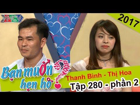 Bạn Muốn Hẹn Hò Tập 280 cặp 2 Thanh Bình Thị Hoa