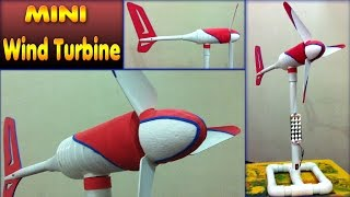 Homemade mini wind turbine for school students and Teachers. This demonstration video uses simple components and is intended to be used for a school science projects. Components used are pvc pipe & fittings, plastic bottle & styrofoam The music and special effects are royalty free.Video Title: homemade mini wind turbine diy how to make free energy generator small wind mill motorVideo Link: http://youtu.be/tpFdtSgKIEcOur Social Media:Youtube Subscribe here: http://www.youtube.com/channel/UCVrNsmJyqX_lpG5QBJqDrLgFacebook Link: http://www.facebook.com/scientificthemes/?ref=bookmarksGoogle Plus: http://plus.google.com/114591819226313316682Please SUBSCRIBE