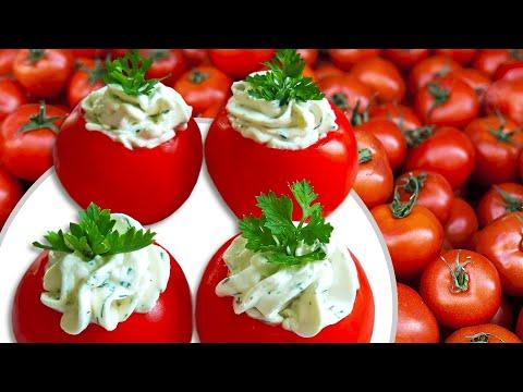 Cream Cheese Stuffed Tomatoes