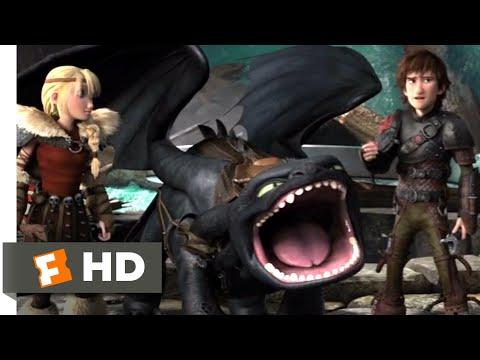 How to Train Your Dragon 2 - Dragon Trappers Scene   Fandango Family