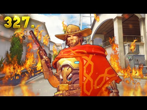 Best McCree Play in the World..?! | Overwatch Daily Moments Ep. 327 (Funny and Random Moments) (видео)
