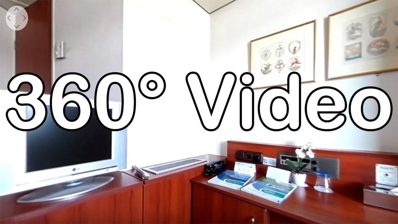 360 Grad Video: Kabine 102, Kat. F - MS Switzerland