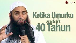 Download Video Kajian Menyentuh Hati: Ketika Umurku Sudah 40 Tahun - Ustadz Syafiq Riza Basalamah MP3 3GP MP4