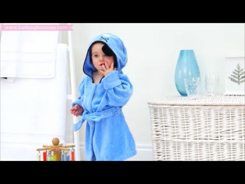 Bathing Bunnies Baby Towels & Bathrobes