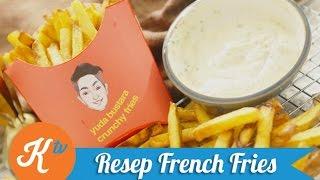 Resep Kentang Goreng ala McD (French Fries Recipe) | YUDA BUSTARA