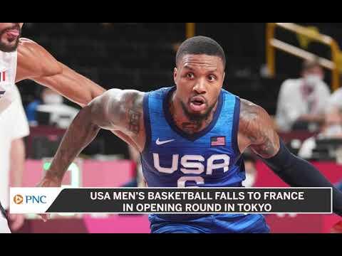 France Hands Team USA Men's Basketball First Loss Since 2004