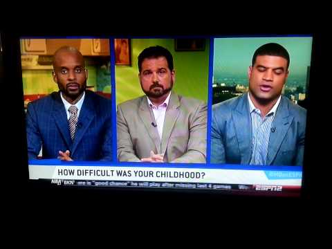 NFL Linebacker Shawne Merriman, excuses himself from interview on espn.