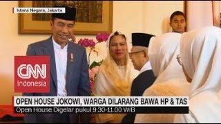 Video Open House Jokowi, Warga Dilarang Bawa HP & Tas MP3, 3GP, MP4, WEBM, AVI, FLV Juni 2019