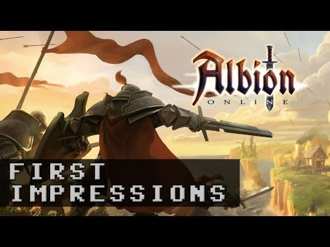 Albion Online Alpha Gameplay | First Impressions HD