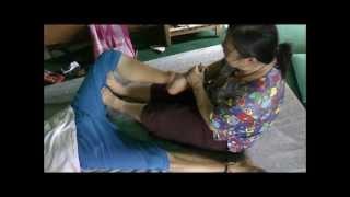 Thai Massage Studies  With Ajahn Timmy Chiang Mai Thailand 2012