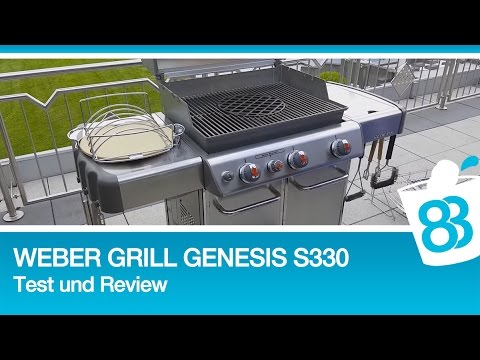 Weber Grill Genesis S330 Live Test und Review