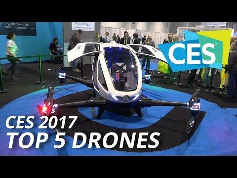 CES 2017 - DRONES