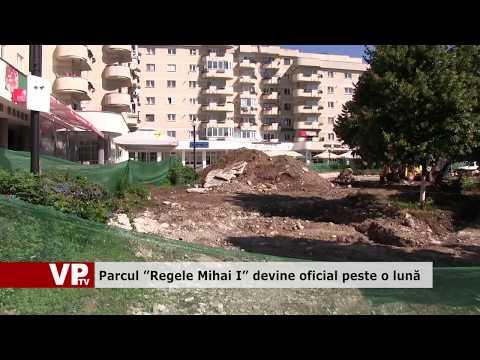 """Parcul """"Regele Mihai I"""" devine oficial peste o lună"""