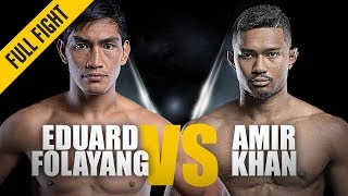 Video ONE: Full Fight | Eduard Folayang vs. Amir Khan | Back On Top | November 2018 MP3, 3GP, MP4, WEBM, AVI, FLV Desember 2018