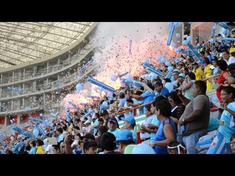 Video - Sporting Cristal - Alianza Lima Peru Hinchada K gones Copa del Inca (16-03-2014) - Extremo Celeste - Sporting Cristal - Peru