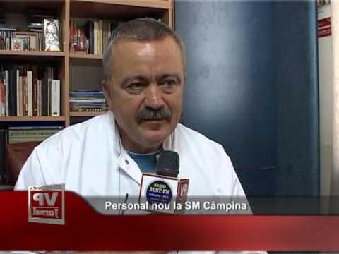 Personal nou la SM Câmpina