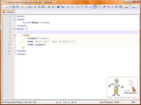 Iniciarse en PHP