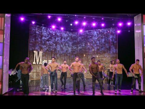 The 'Magic Mike Live' Dancers Perform (видео)