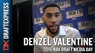 Denzel Valentine NBA Draft Media Day Interview