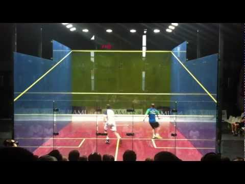 Legends Of Squash – John White versus Tim Garner