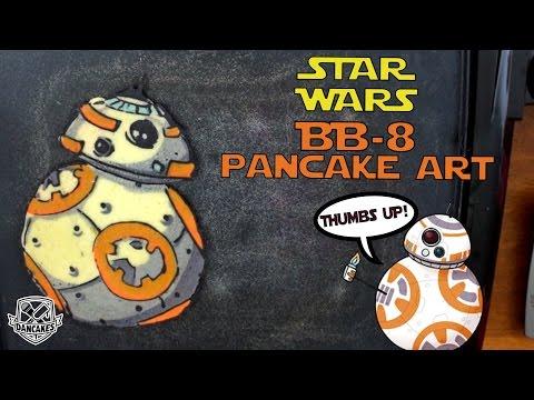 BB8 Pancake Art