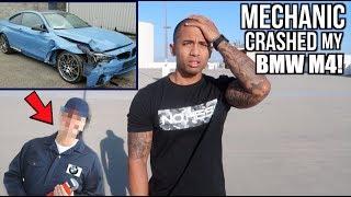 Video Mechanic crashed my NEW 2018 BMW M4! MP3, 3GP, MP4, WEBM, AVI, FLV Maret 2019